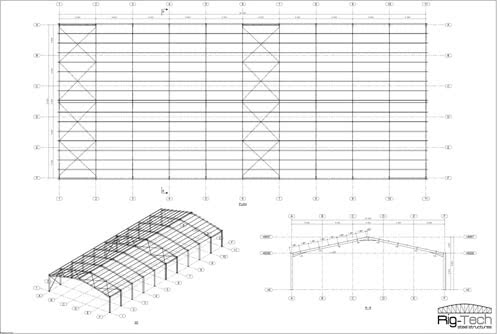 Steel Structure Drawing