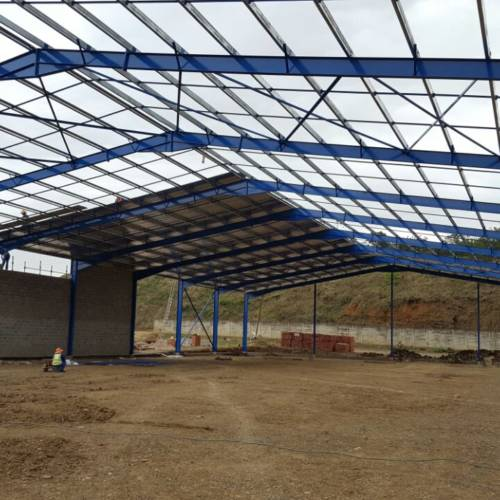 Steel structure warehouse 2100 sqm